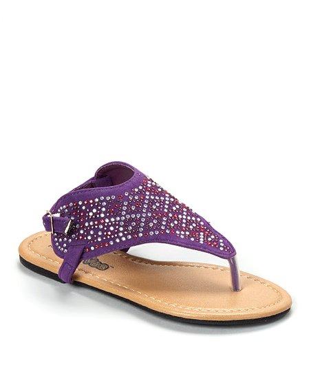 d5f4c177c58d love this product Purple Rhinestone Sandal