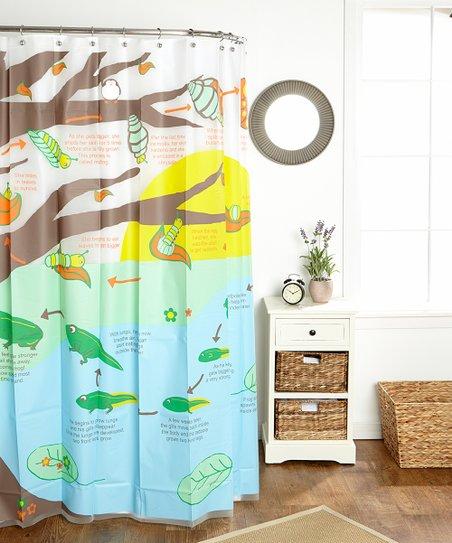 Metamorphosis Shower Curtain by SMART EVA vinyl