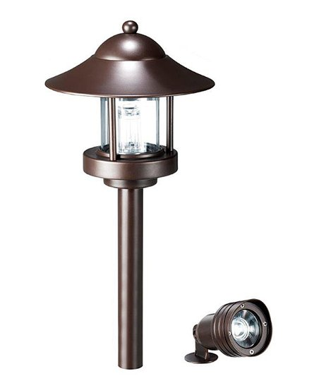 Idc Bronze Low Voltage Landscape Light Set Zulily