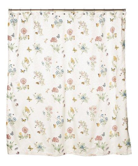 Butterfly Meadow Shower Curtain