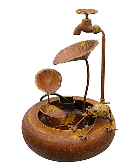 Metal Frog Fountain Best Price And Reviews Zulily