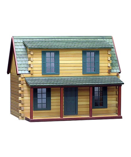 Real Good Toys Adirondack Cabin Finished Dollhouse