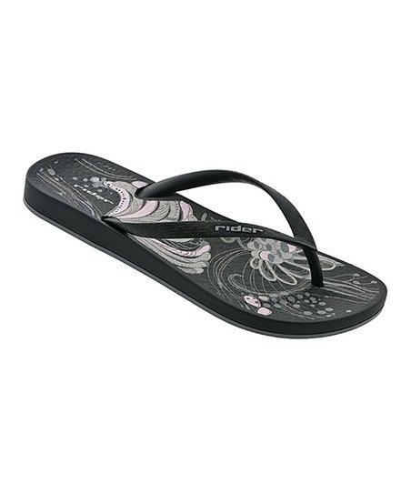 c6b7ec687921 love this product Black   Gray Romantic II Flip-Flop - Women
