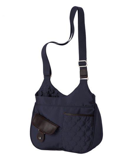 Mosey Peacoat Duffy Crossbody Bag Zulily