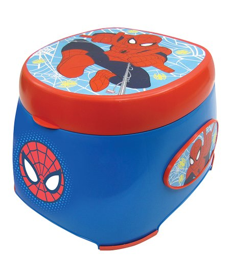 Swell Spider Man 3 In 1 Potty Trainer Evergreenethics Interior Chair Design Evergreenethicsorg
