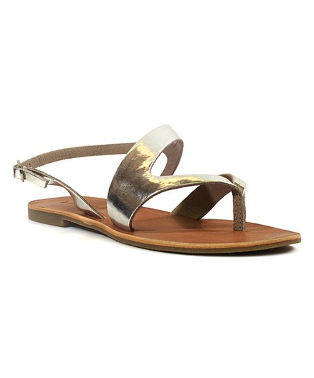 d6cecb23b7ac78 Chelsea Crew Silver Breeze Leather Sandal - Women