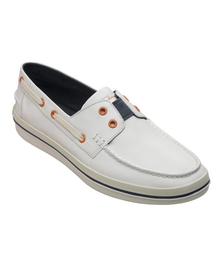 7676f743e1 Tommy Bahama® White Rester Gore Relaxology Leather Boat Shoe - Men ...