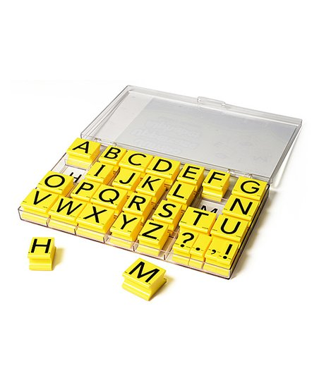 Love This Product Uppercase Alphabet Stamp Set