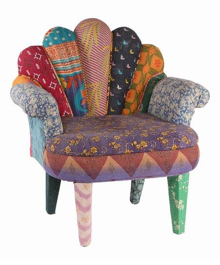 Superb Karma Living Purple Blue Peacock Accent Chair Unemploymentrelief Wooden Chair Designs For Living Room Unemploymentrelieforg