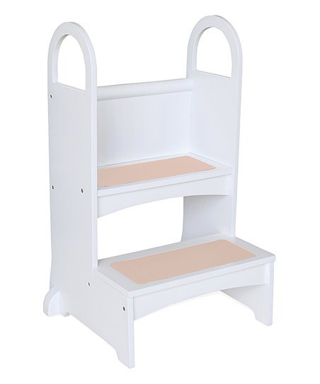 Prime Guidecraft White High Rise Step Up Stool Camellatalisay Diy Chair Ideas Camellatalisaycom