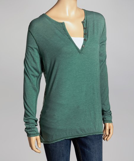 04dbb95964d love this product Sage JJ Long-Sleeve Top