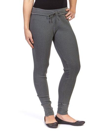 e217f017aa3 R R Surplus Gray Drawstring Leggings - Women