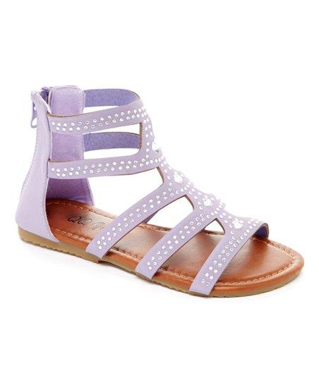 4b615c433 love this product Purple Rhinestone Piper Gladiator Sandal