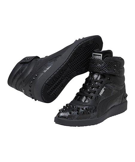PUMA Black Sky Point Wedge Sneaker