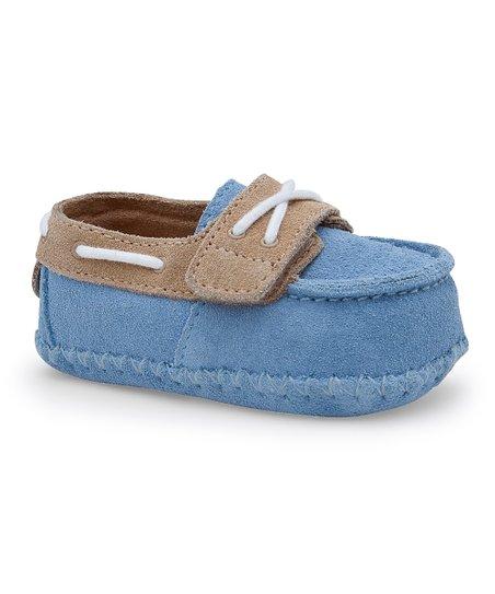 a6641933351 UGG® Blue & Sand Zach Bootie - Infant