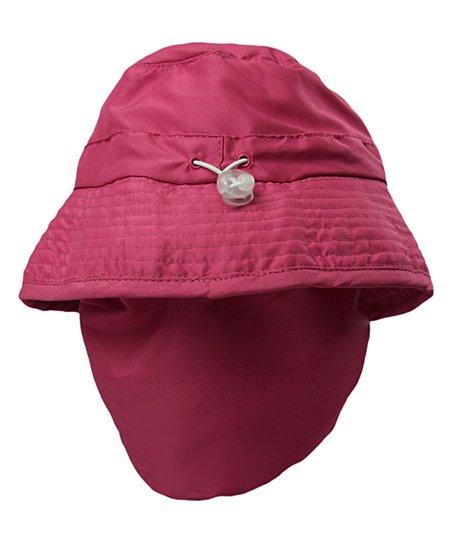 UV Skinz Hot Pink Happy Flap Bucket Hat - Toddler   Girls  d4358c9cd3d