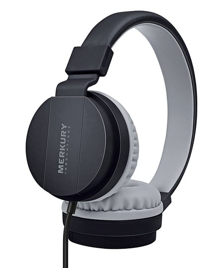 c0073bd3948 Merkury Innovations Black Revel Stereo Headphones | Zulily
