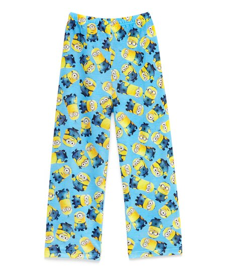 047c24831dafcf Blue Despicable Me Minions Pajama Pants - Boys