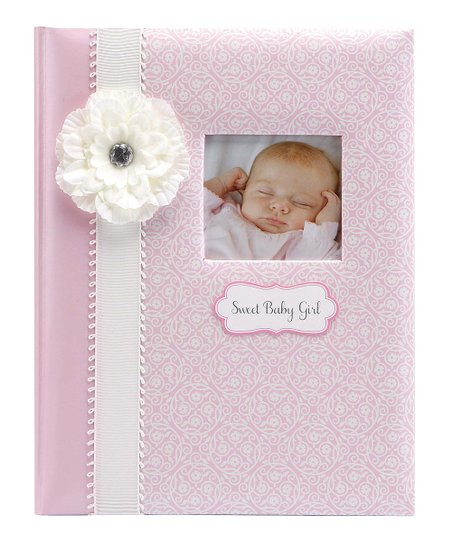 Cr Gibson Baby Pink Sweet Baby Girl Memory Book Zulily