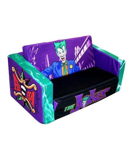 Komfy Kings Inc The Joker Clic Villain Flip Sofa Zulily