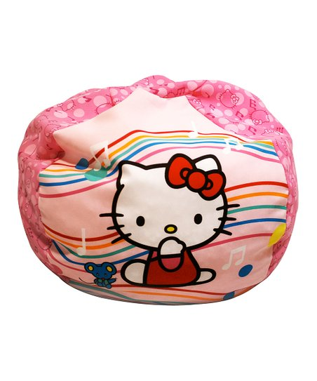 Hello Kitty Music Notes Beanbag Chair Zulily