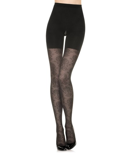 def49c9c43d13b love this product Star Power Center Stage Shaping Tights - Black Medallion