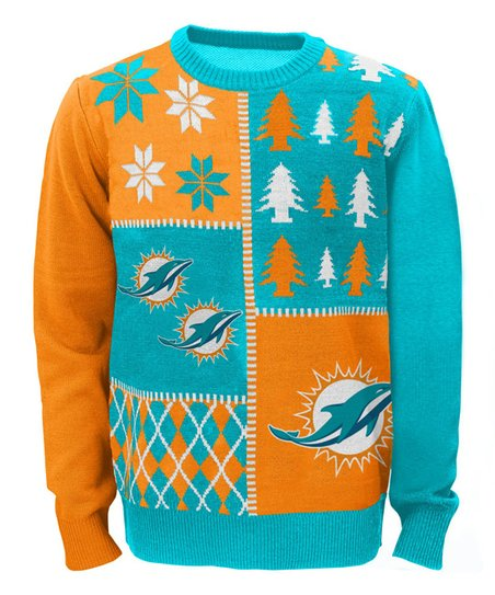 Outerstuff Miami Dolphins Ugly Sweater Boys Zulily