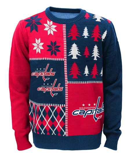90617c7aa1e Outerstuff Washington Capitals Ugly Sweater - Boys | Zulily