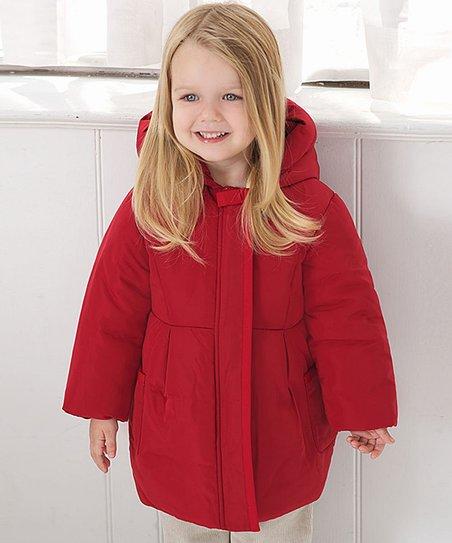 a2badf9f0bc8 dave   bella Red Puffer Coat - Infant