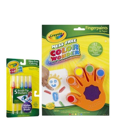 Crayola Color Wonder Paint Marker Set Zulily
