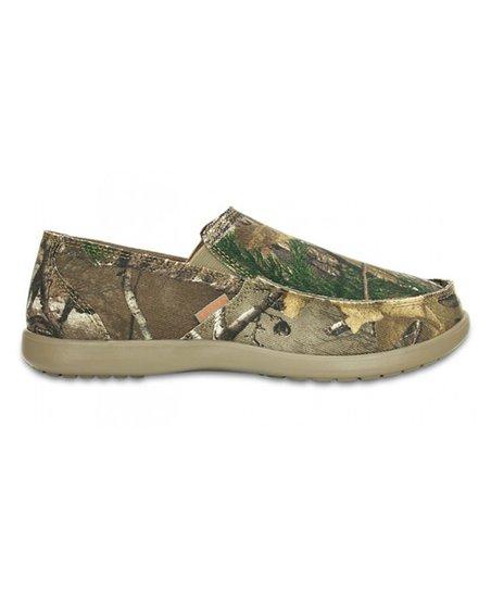 db1da45ce2f Crocs Khaki Realtree Extra Santa Cruz Loafer - Men