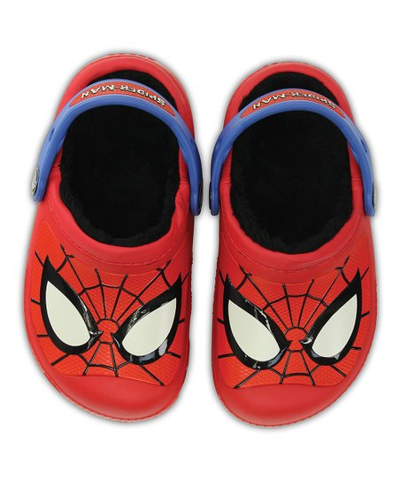 469254e3f870 love this product Spider-Man Red Lined Clog - Toddler   Boys