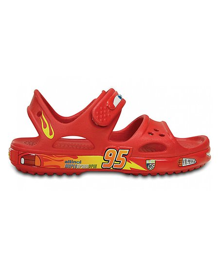 a3c1595e92a9 Crocs Cars Lightning McQueen Red Crocband™ II Sandal - Toddler ...
