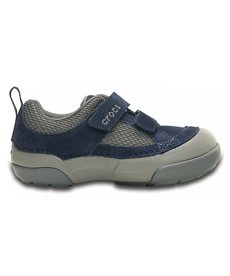 5683eee517fb1c love this product Navy   Light Gray Dawson Easy-On Shoe - Infant