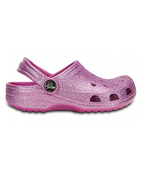 fb2dd1a2a8 love this product Wild Orchid Glitter Classic Clog - Toddler & Girls