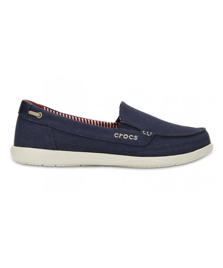 e3fb7315680 love this product Nautical Navy Walu Canvas Loafer - Women