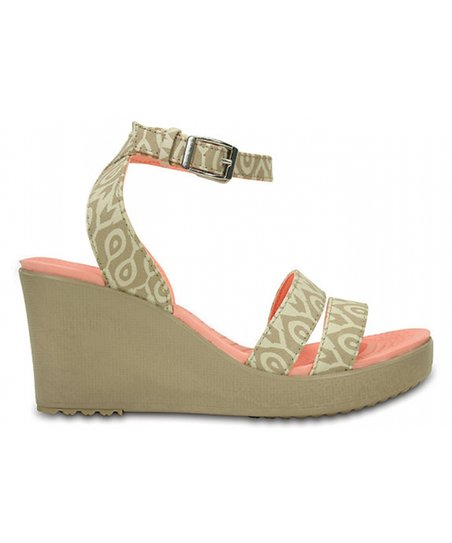 a02d9a7d9645cf love this product Stucco   Tumbleweed Leigh Graphic Wedge Sandal - Women