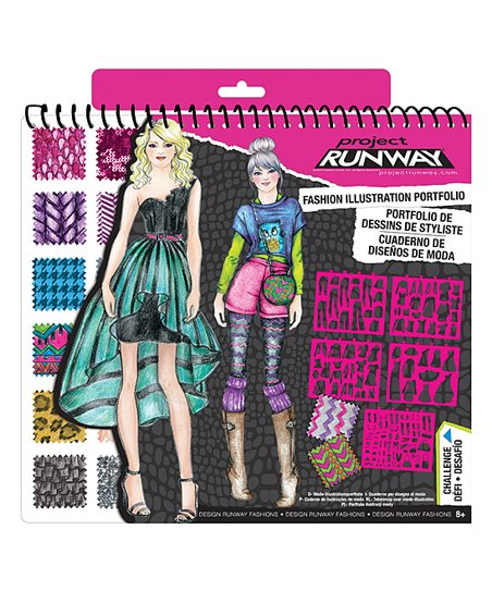 Fashion Angels Project Runway Fashion Design Sketch Portfolio Best Price And Reviews Zulily