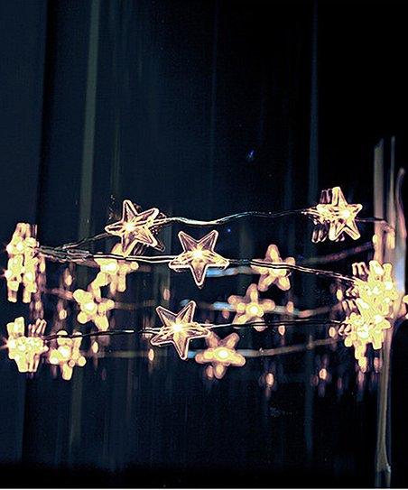 Gold Star Led Light String