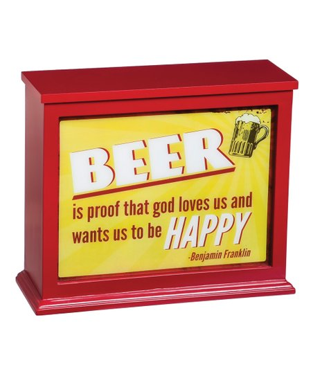 evergreen beer quotes light box lamp zulily