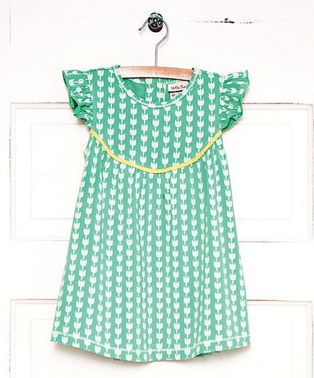 15f5fbf5be Matilda Jane Clothing Green Tulip Festival Dress - Toddler   Girls ...