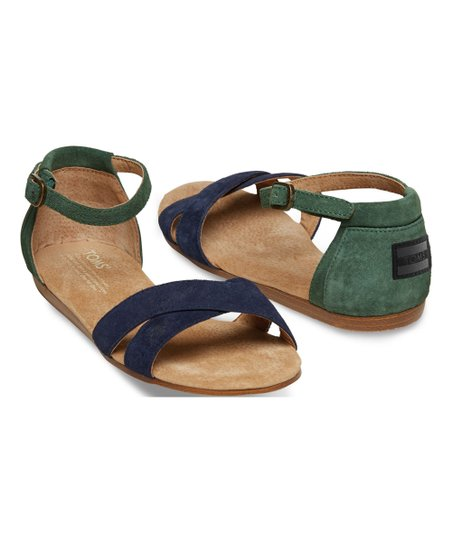 2401f88d8fad love this product Navy Galapagos Correa Suede Sandal