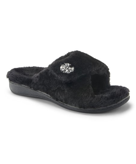 1691c093e625 Vionic Black Relax Luxe Slipper - Women