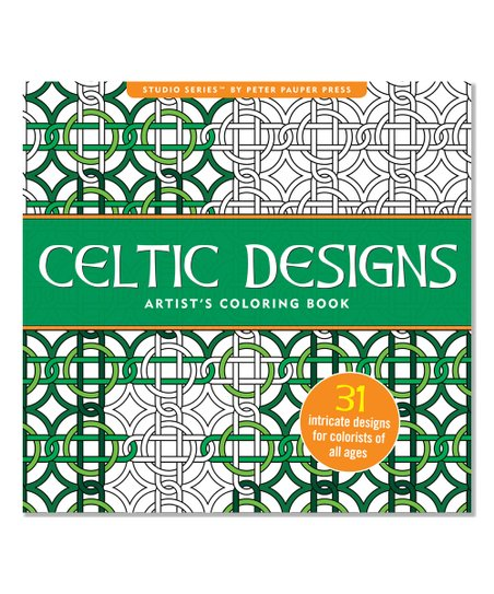 Peter Pauper Press Celtic Designs Artists Coloring Book | Zulily