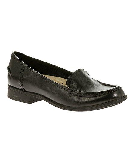 2adca0e002f Hush Puppies Black Blondelle IIV Leather Loafer