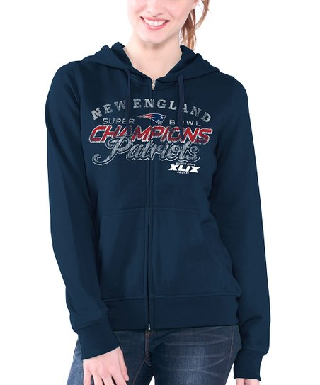 Touch by Alyssa Milano New England Patriots Super Bowl Champs Zip-Up ... bfa600b0a