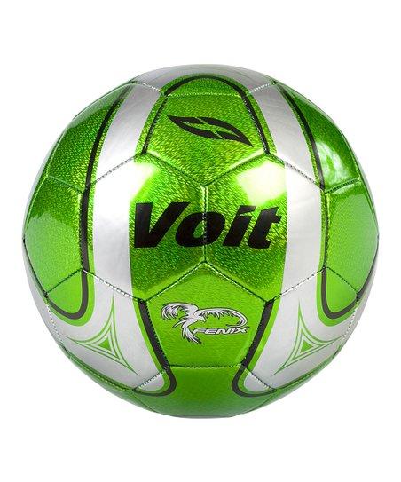 Green Voit Size 5 Fenix Soccer Ball  fdc71efca2