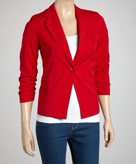 8d7b57423 love this product Red Blazer - Women