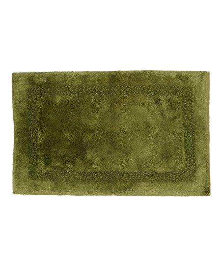 Lenox Moss Platinum Bath Rug Zulily