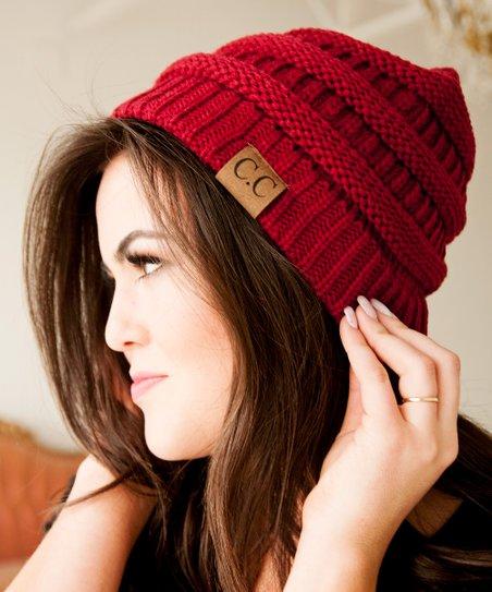 dd493af71b71b Bella Ella Boutique Red CC Beanie